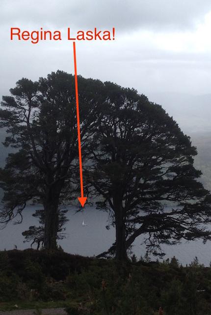 Regina Laska on Loch Ness2